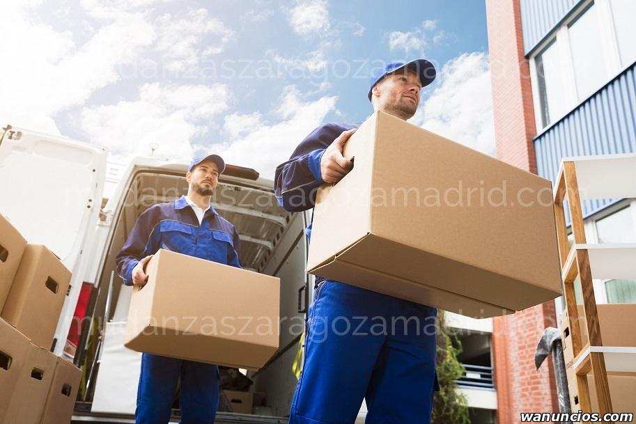 Mudanzas de Zaragoza a Madrid - Zaragoza