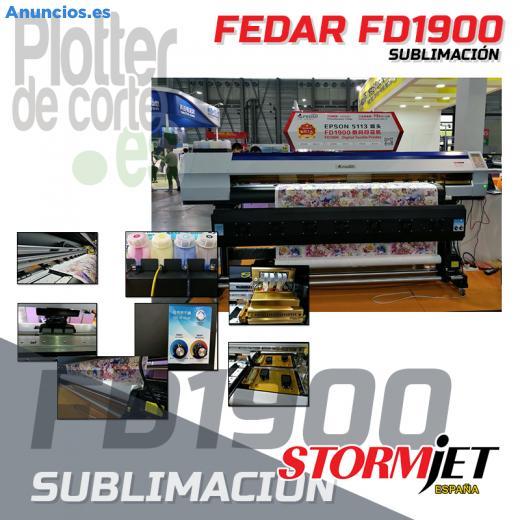 OFERTA Nueva Impresora De Sublimacion Fedar FD