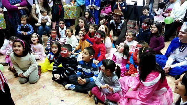 Organización de fiestas infantiles en Barcelona a domicilio