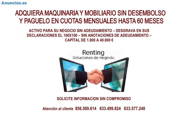 PEQUEÑO INVERSOR PARA EMPRESA VENTA MAQUINAS
