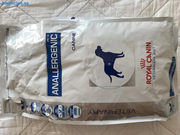 PIENSO ROYAL CANIN ANALLERGENIC 3 KG 2 PAQUETES