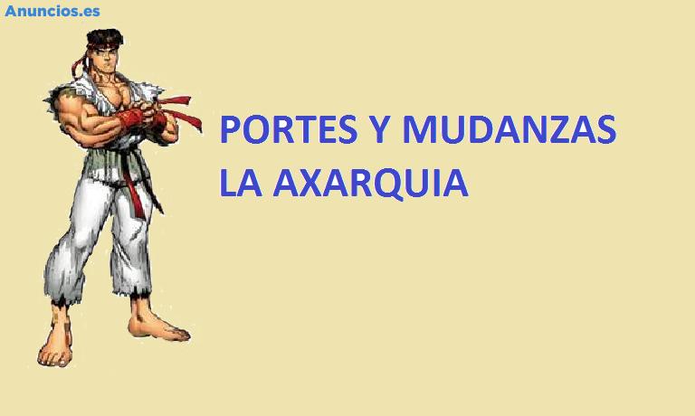 PORTES Y MUDANZAS LA AXARQUIA