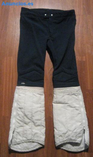Pantalon De Esquiar Azul Marino Y Blanco