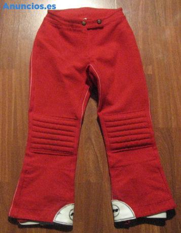 Pantalon De Esquiar Rojo Infantil