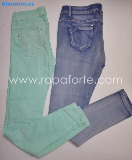 Pantalones De Pitillo Mujer Segunda Mano