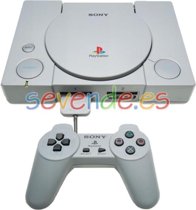 Playstation 1 con chip