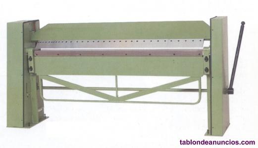 Plegadora manual mod pmr  x 2 mm
