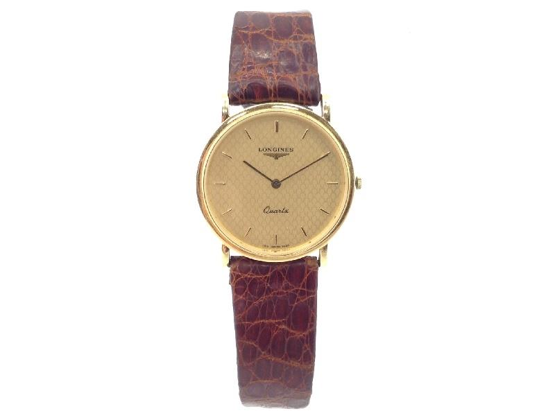 Reloj De Oro Longines Or