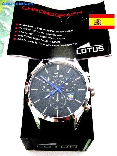 Reloj Lotus EdicióN Limitada UFP Varillas Azules