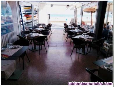 Restaurante en paseo maritimo campello