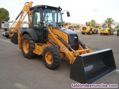 Retro excavadora mixta case 580 t nueva a estrenar.