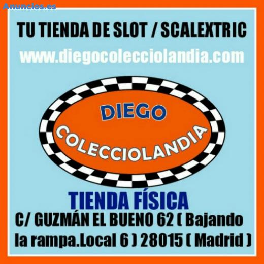 SCALEXTRIC / SLOT EN MADRID (DIEGO COLECCIOLANDIA)