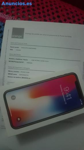 SE VENDE IPHONE X DE 64 GB