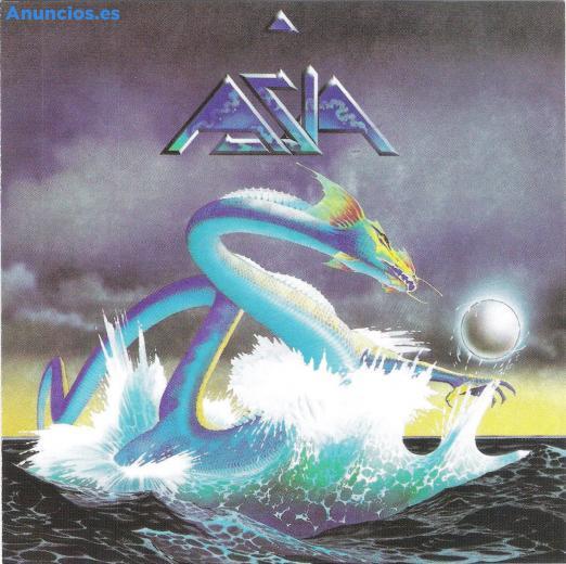 Se Vende CD Del Grupo De Rock Asia