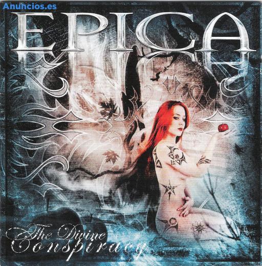 Se Vende Cd Del Grupo De Rock Epica Totalmente Nuevo