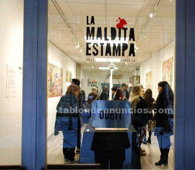 Se comparte taller de arte y galería de exposición
