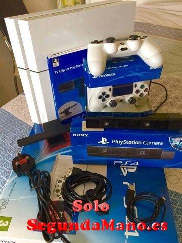 Sony PS4 Pro 1TB Console ORO y BLANCO con 7 juegos ?100euros