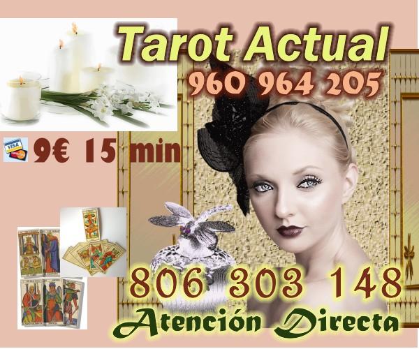 TAROT ACTUAL VIDENCIA QUE ACIERTA VISA 9 EUR 15 MIN