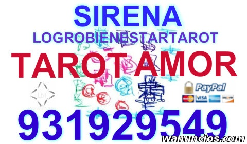 TAROT ECONOMICO AMOR SIRENA CERTERO  - Cantabria