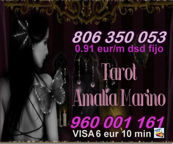 TAROT ECONOMICO DE AMALIA VISA 6E 10 MIN  O