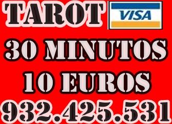 TAROT VISA ECONOMICA 30 MINUTOS 10 EUROS -