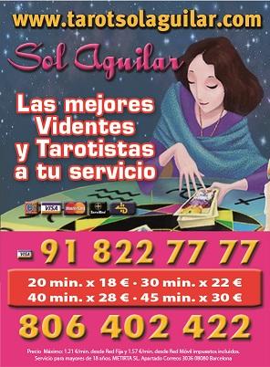 Tarot Sol Aguilar Económico y profesional - Madrid