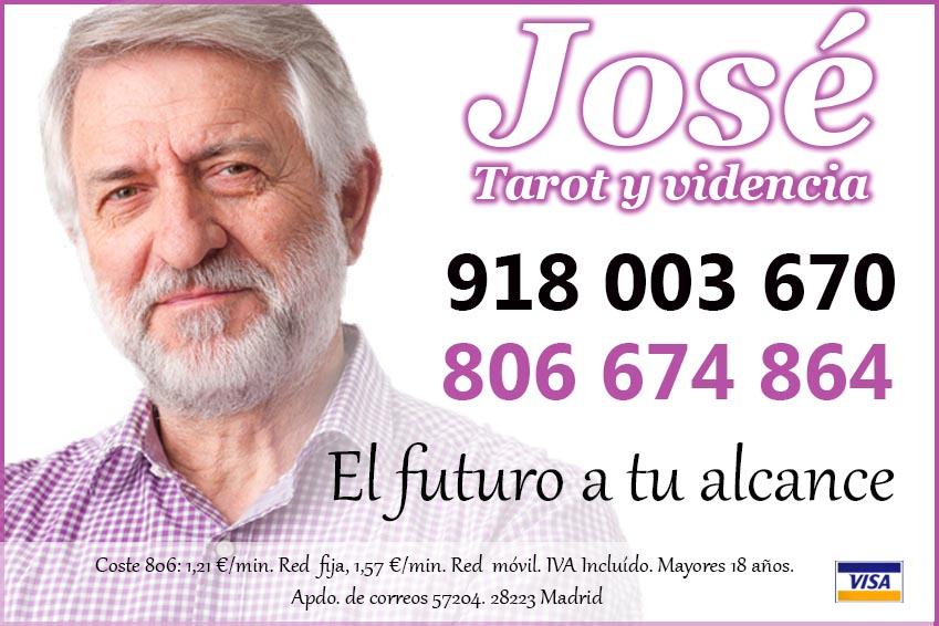 Tarot amor bueno Jose Campos - Madrid