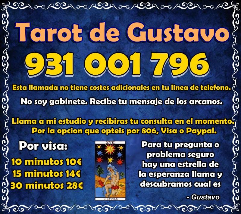 Tarot de Gustavo sin gabinete  - Valladolid