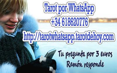 Tarot por whatsapp, haz tu pregunta por 3 euros  -