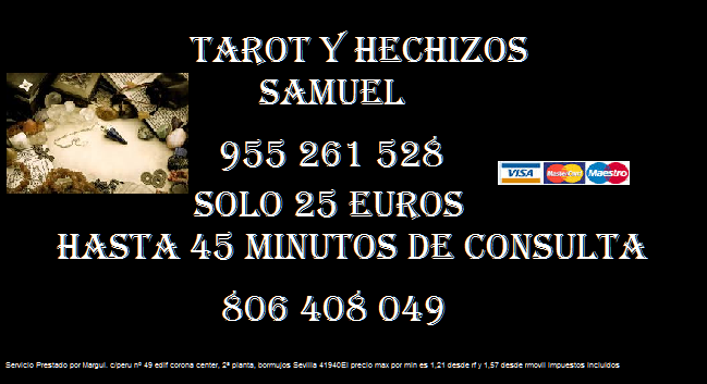 Tarot y Hechizos con Samuel, teléfono fijo - Madrid