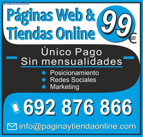 Tienda Online O PáGina Web Desde 99e