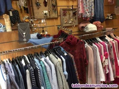 Traspaso tienda de ropa y complementos en madrid centro