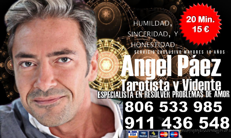 VIDENCIA Y TAROT - ANGEL PAEZ - Barcelona