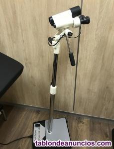 Vendo conjunto camilla ginecología y colposcopio