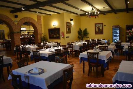 Venta de restaurante + hostal + vivienda, negocio activo