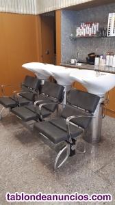 Venta mobiliario de peluqueria
