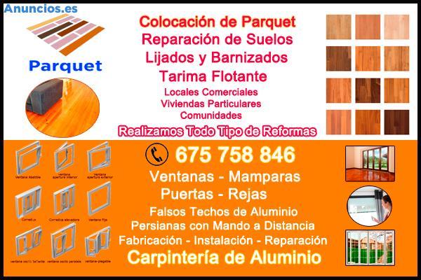 Ventanas Y Puertas De Aluminio - Parquet