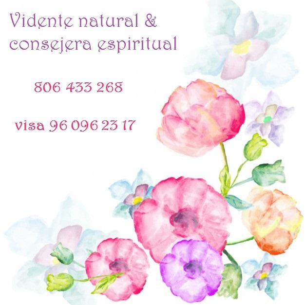 Vidente natural consejera espiritual y guía. Tu mejor