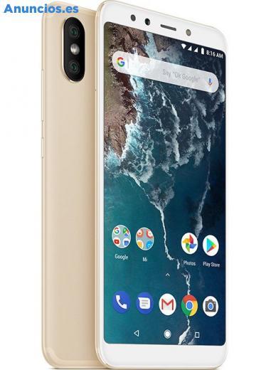 Xiaomi Mi A2 4GB/64GB 4G Dual Sim Dorado Libre