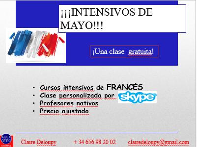 clases de francés con profesores nativos via skype - Girona
