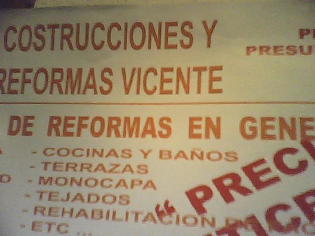 construcciones y reformas vicente - Albacete