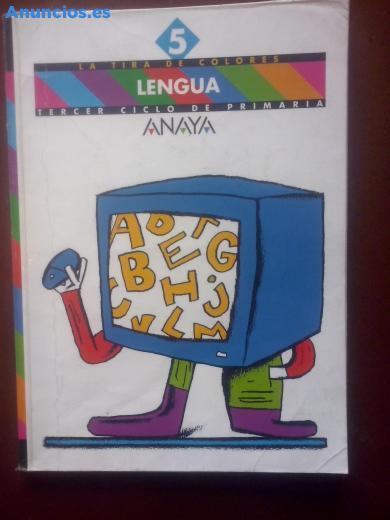 5º Primaria, Lengua Castellana La Tira De Colores Anaya