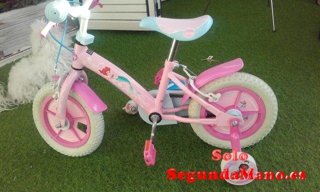 Bicicleta niña princesas Disney 2-5 años