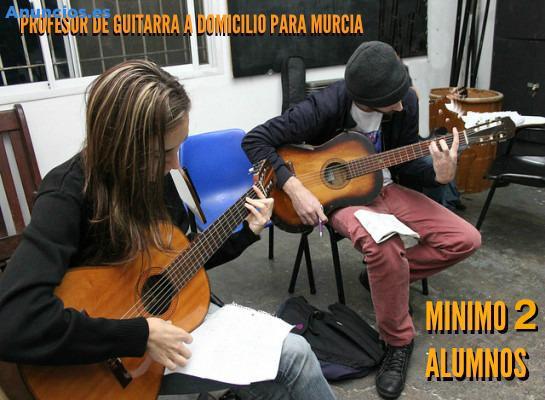 CLASES DE GUITARRA, VIVO EN EL PALMAR. MURCIA