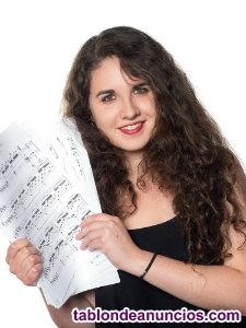 Clases particulares de canto y técnica vocal