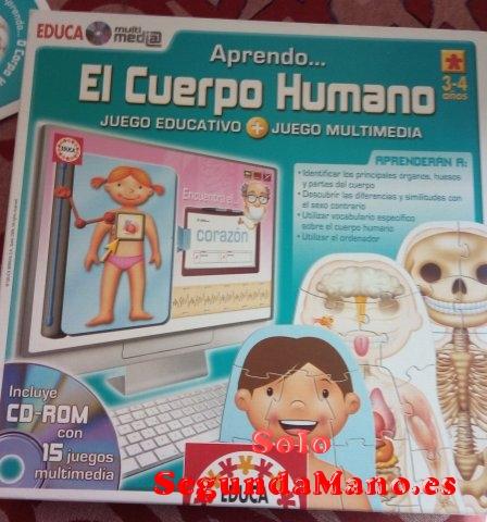 EL CUERPO HUMANO DE EDUCA