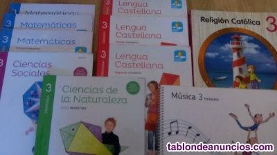 Libros de 3º primaria