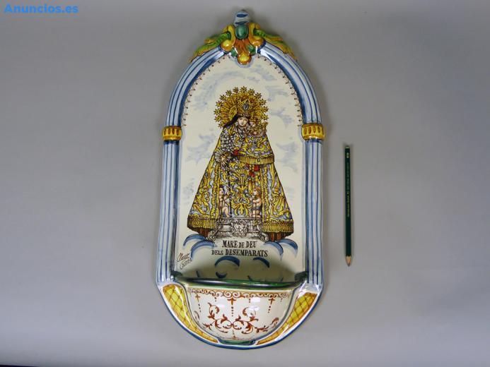 Pileta De CeráMica Virgen Desamparados