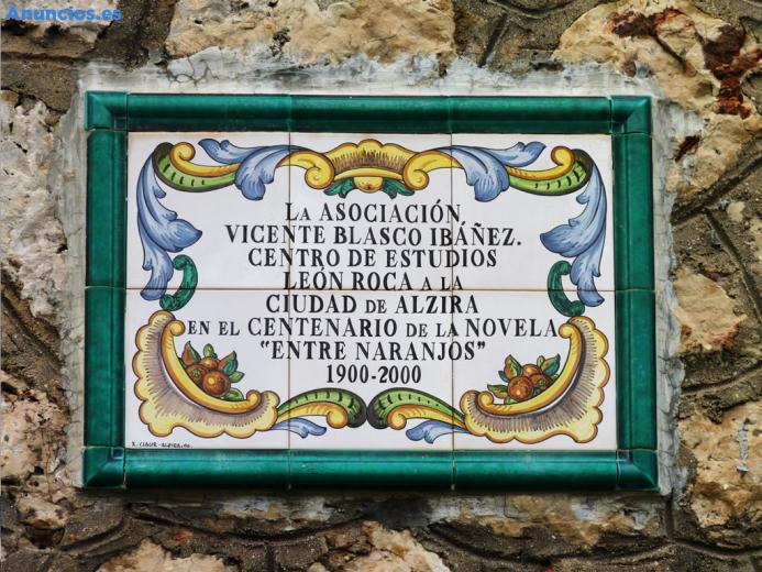 Placa De CeráMica Conmemorativa 60x40 Cm