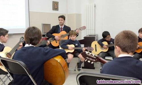 Taller de guitarra para niños barcelona